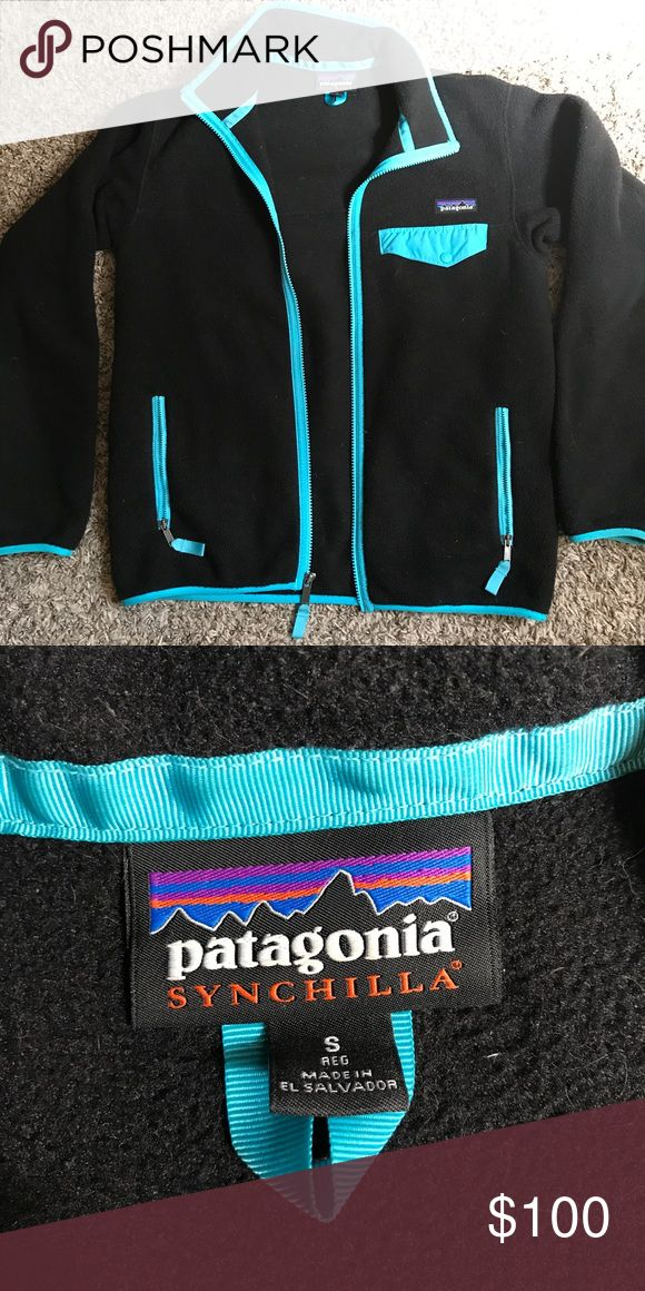 Patagonia Synchilla Snap-T Jacket Super cozy Patagonia fleece jacket. Lightly used but in great condition. Patagonia Jackets & Coats