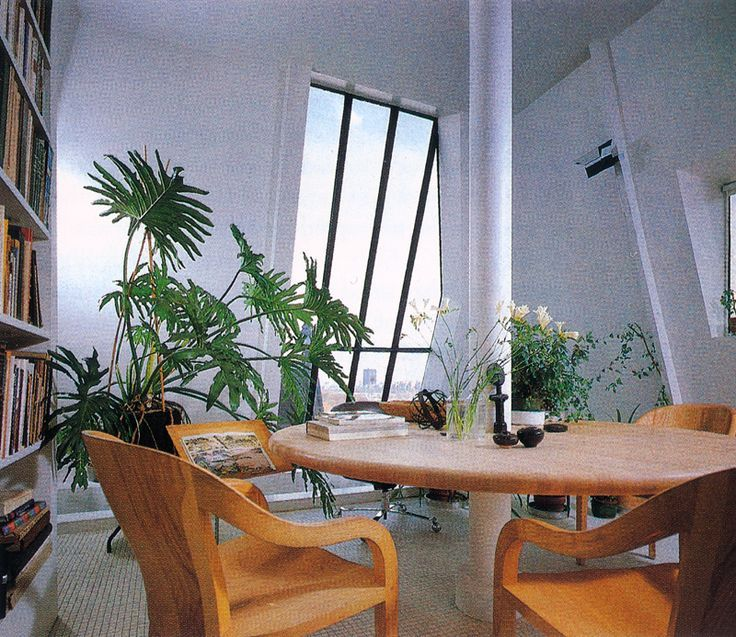 Ward Bennett, Conference Room In Dakota Building Rooftop Apartment, 1980