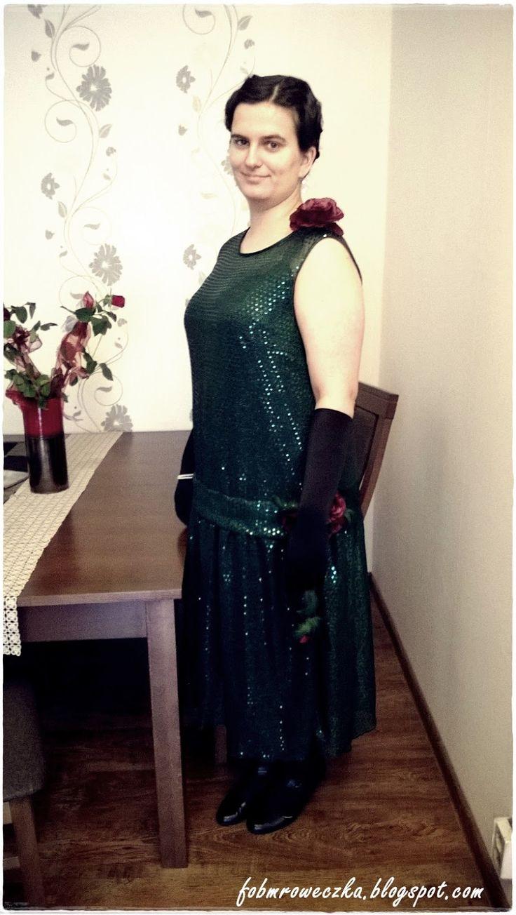 Świat mrówki.: My new flapper girl dress.