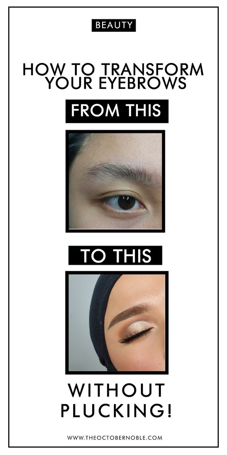 You don't pluck your eyebrows? No worries, you can still have fleeky eyebrows. This is a tutorial, tips and hacks on how to achieve amazing eyebrows without plucking. Enjoy! #beauty #cosmetics #makeup #hacks #tricks #tips #tutorial #eyebrows