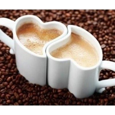 I Heart MugsCoffe Time, Wedding Gift, Coffe Cups, Coffe Lovers, Two Heart, Mornings Coffe, Coffee Cups, Hot Chocolates, Coffee Mugs