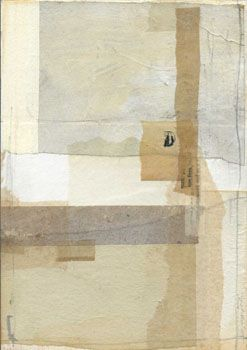 I love the layering of papers and the colour 'scheme' as such. Reminds of tissue paper if did recently....By Inoue Yoko