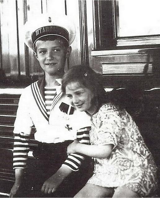 Tsarevich Alexei of Russia and Princess Ileana of Romania.