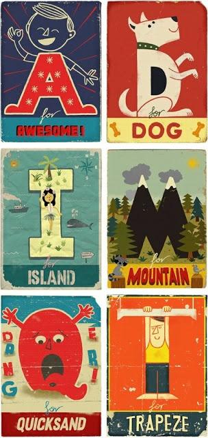 Nursery DIY- Flashcard Art Including Free Printables List!