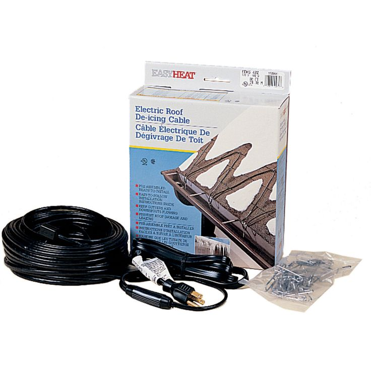 EasyHeat 60ft Roof Heat Cable at 49 Roof, De