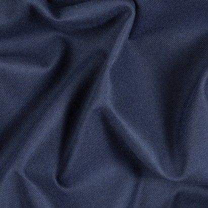 Patroit Blue Cotton-Tencel Double Sided Brushed Flannel Fabric by the Yard | Mood Fabrics