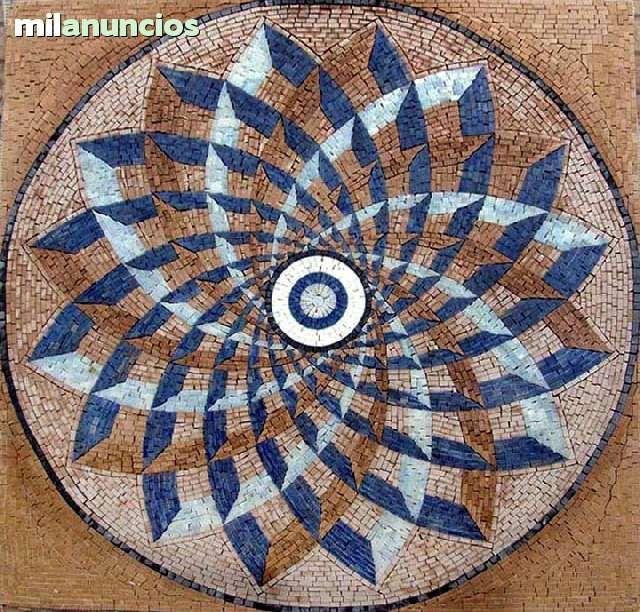 Resultado de imagen para mosaico mesa redonda
