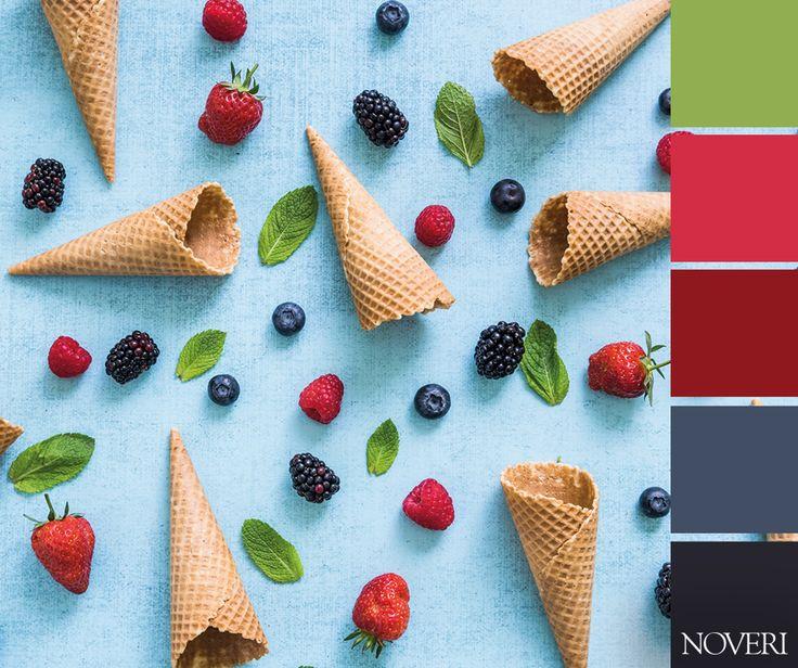 Colori di primavera!  #colors #spring #cones #icecream #noveri #piacenza