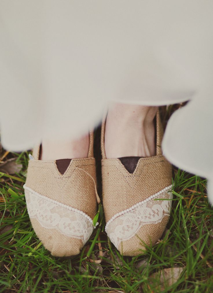 Found my reception shoes!!! Wedding TOMS the bride made. // shoes  TOMS  One for One fashion style