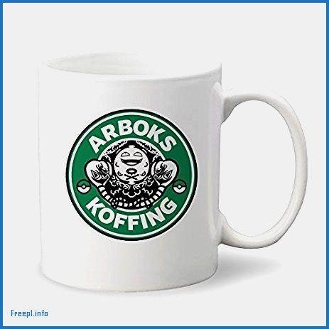 Arboks Koffing Pokemon Starbucks Parody Custom Coffee Mug