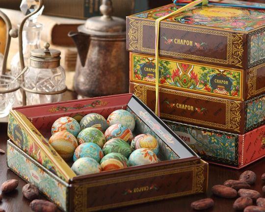 このまま食べられる宝石のようなシャポンのデザインショコラパリで人気の商品が日本に上陸
