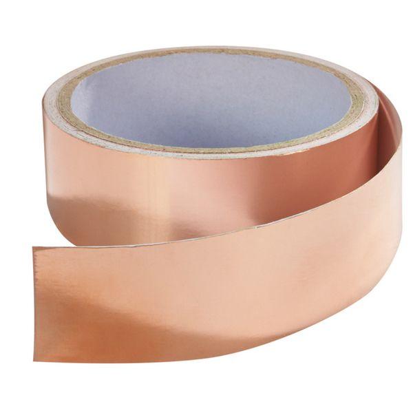 As Seen On TV 15-foot Slug & Snail Copper Tape Barrier | Overstock.com Shopping - The Best Deals on Gardening Supplies