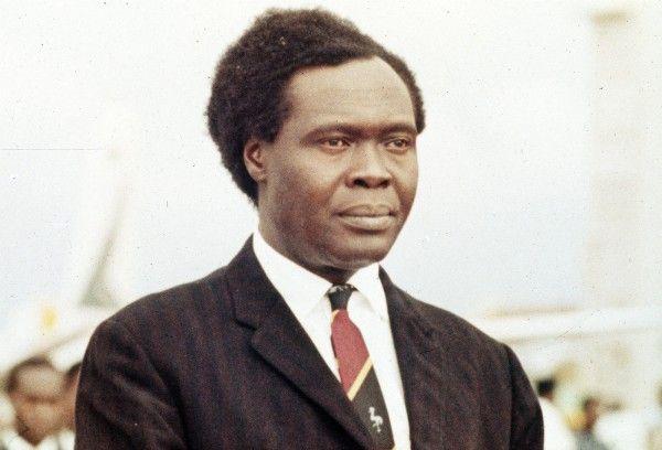 Former president of Uganda, Milton Obote