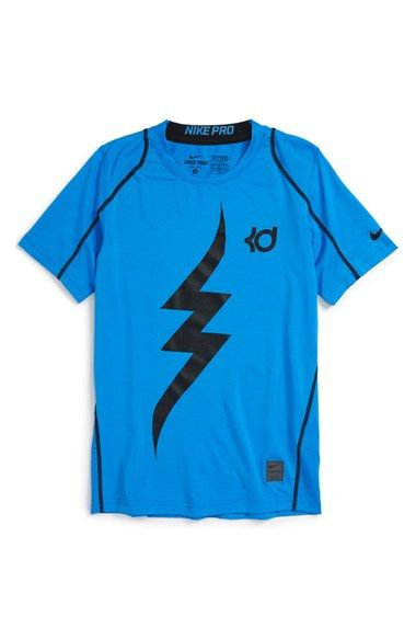 Nike \u0027KD Pro Cool\u0027 Fitted Compression T-Shirt (Little Boys \u0026 Big