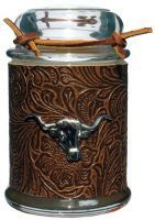Southwestern Candle Company Rawhide - Faux Exotic Skin Candle - Large 9 oz. The distinctive smell of leather coupled with the notes of amber, cedarwood, and musk capture the boldness of the southwest.