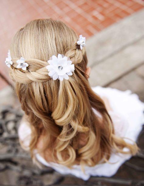 Banging peinados para niña de comunion 2021 Galeria De Cortes De Pelo Tendencias - Pin de Reyitamix en niñas | Peinados primera comunion ...