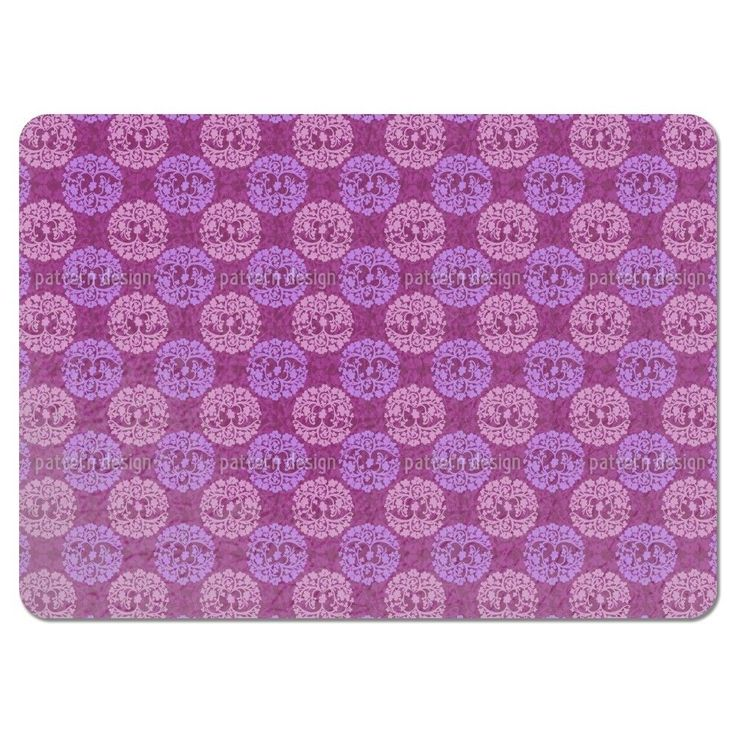 Uneekee Calm Wood Purple Placemats (Set of 4) (Calm Wood Purple Placemat) (Polyester)