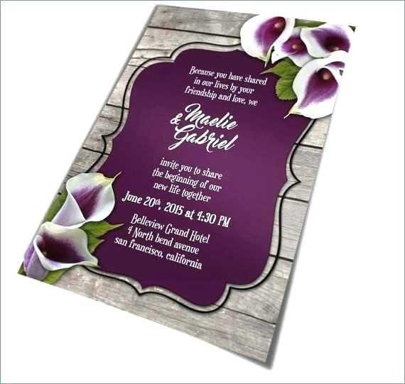 Purple And Silver Wedding Invitations Ideas For Invitation