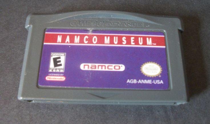 Namco Museum Namco Game Boy Advanced GBA- Fast +Free Shipping #Namco