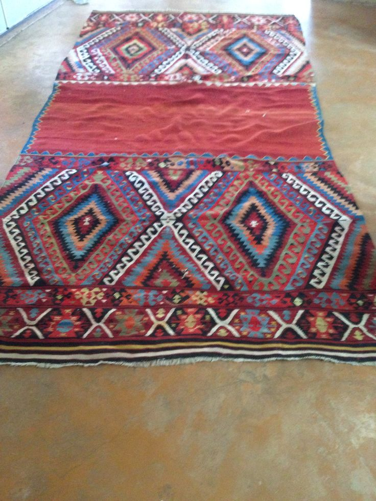 My turkish kilim rug - root livingroom decor from this