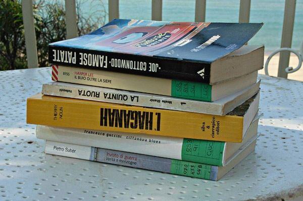 Tanti libri in vacanza