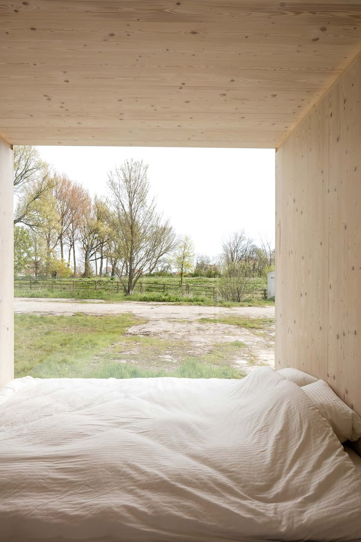 Ark Shelter - Student Designed Tiny House - Bedroom - Humble Homes