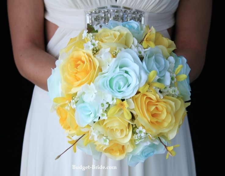 Dark Blue And Yellow Wedding: 25+ Best Ideas About Tiffany Blue Flowers On Pinterest