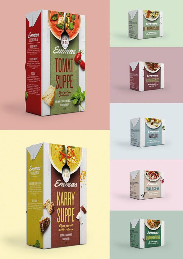 Дизайн упаковки готовых супов