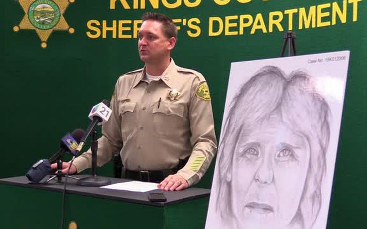 The Kings County Sheriff's Office has released a sketch of a woman whose decomposed body was found dumped on a canal bank south of Corcoran.