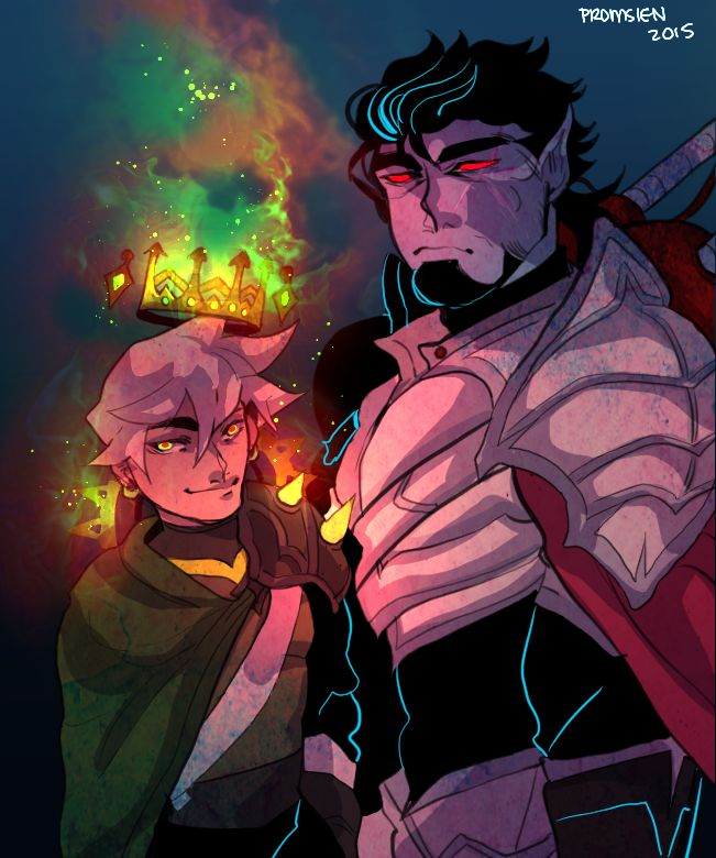 promsien : King Danny AU // well... That would be interesting.