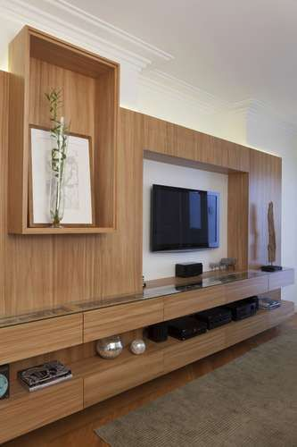 Sala Tv Home Theater ~  + images about Tv console on Pinterest  TVs, Tv units and Tv walls