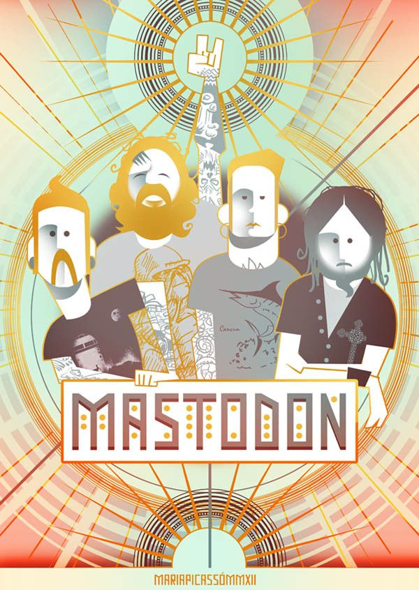 Mastodon is another weird one. Their sound is unique and changes song to song. Great musical performance, great melodic sounds, but still very metal.