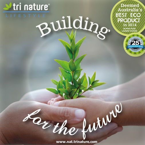 Building a #sustainable future for everyone :-) #lovetrinature