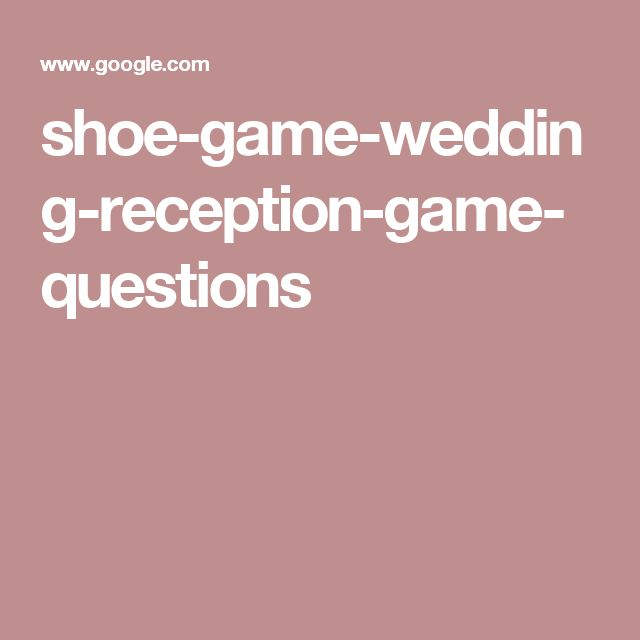 Wedding Shoe Game Questions: Best 25+ Shoe Game Wedding Ideas On Pinterest