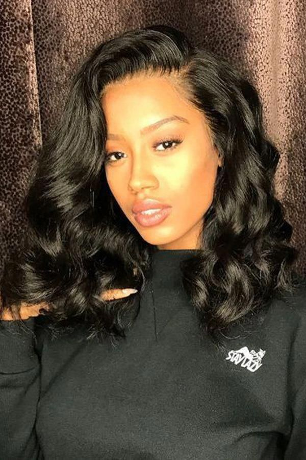 Body Wave Sew In With Frontal Closure Hairstyles For Black Girls Online Shop Best Virgin Hair Bundles Great P Hair Waves Hair Styles Front Lace Wigs Human Hair