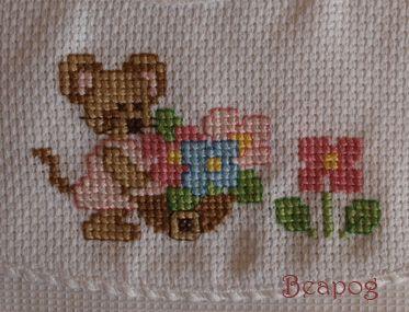 The beapog website - Punto croce, bambole, patchwork e free - Lavori finiti - Bambini