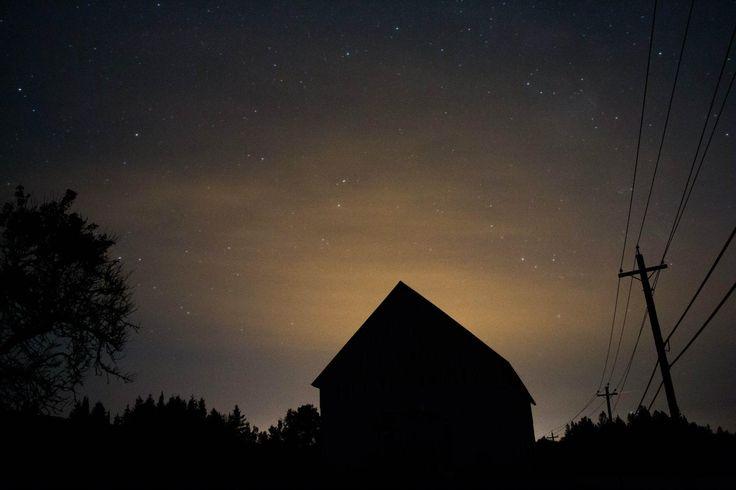 Starry night and city light by Mark Bradley on 500px