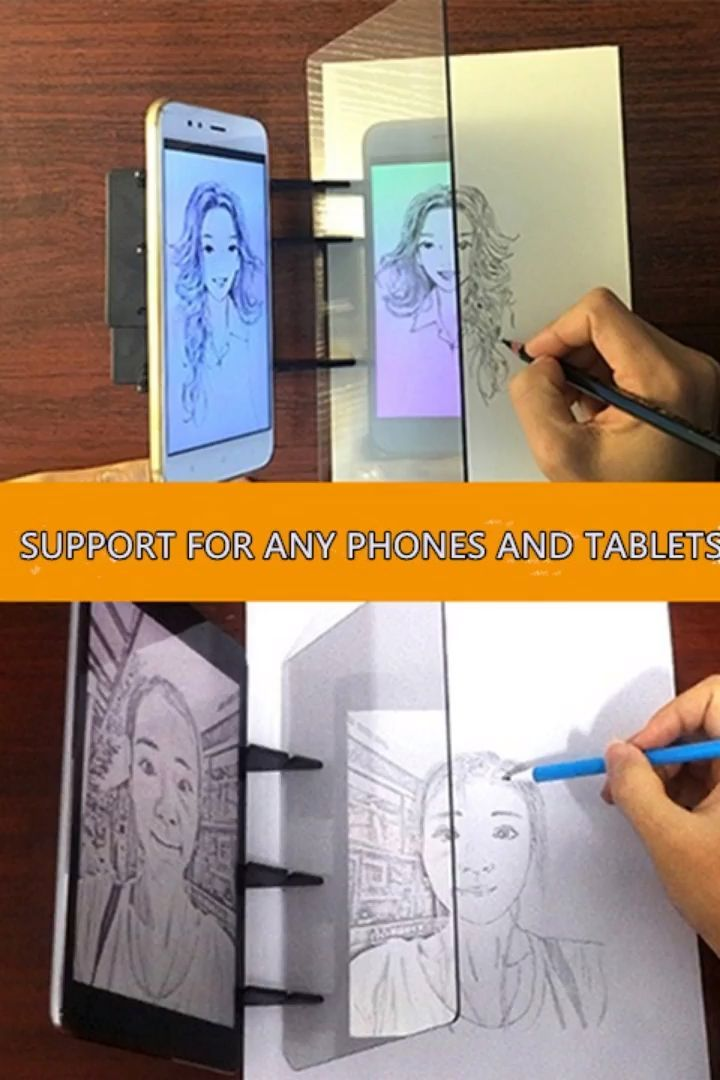 Easy Tracing Mirror Easy Mirror Paintedwallvideos Tracing Diy Mirror Diy Projects Painting Techniques