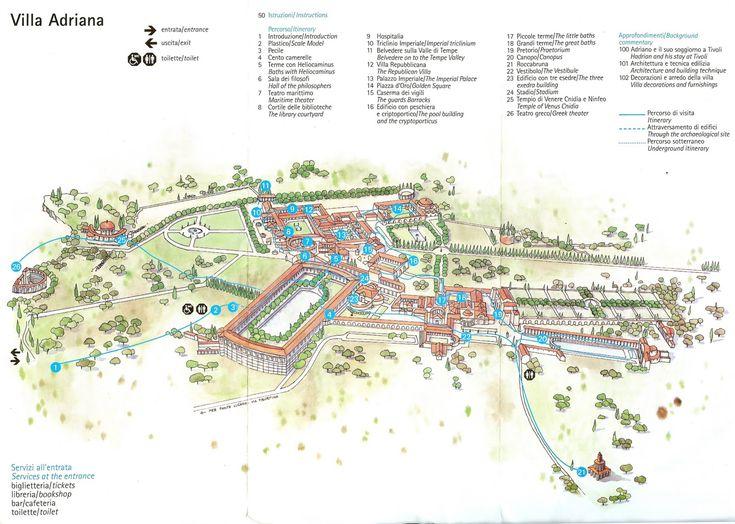Hadrian U0026 39 S Villa  Tivoli