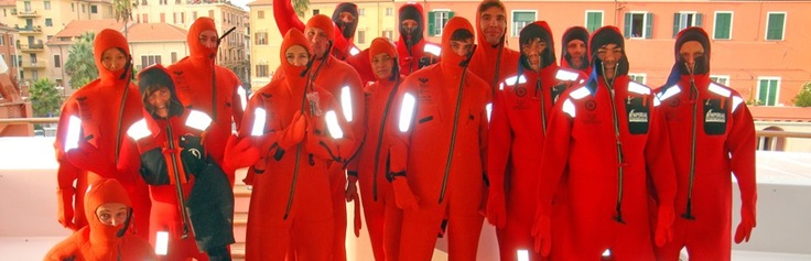 Team suited up and ready for action, image thanks to International Crew Training. https://www.facebook.com/IntlCrew