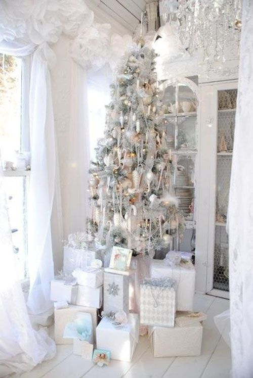 Delicieux 50 White Vintage Christmas Ideas For Decorating