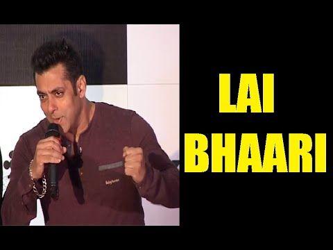 CHECKOUT ! What Salman Khan said about his cameo in LAI BHAARI movie.