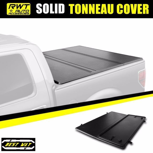 Hard Solid Lock Tri-Fold Tonneau Cover For 2005-2015 Toyota Tacoma 5FT 60' Bed | eBay