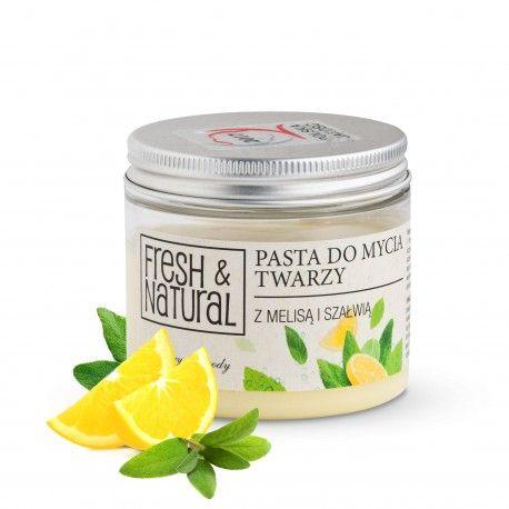 PASTA do mycia twarzy 150ml - Fresh&Natural