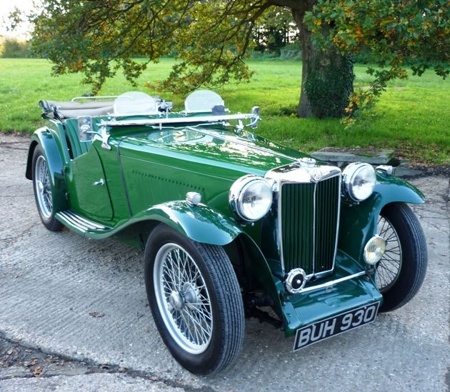 1938 MG TA - I know Peg loves this car, but so do I. To put it simply, a classic!
