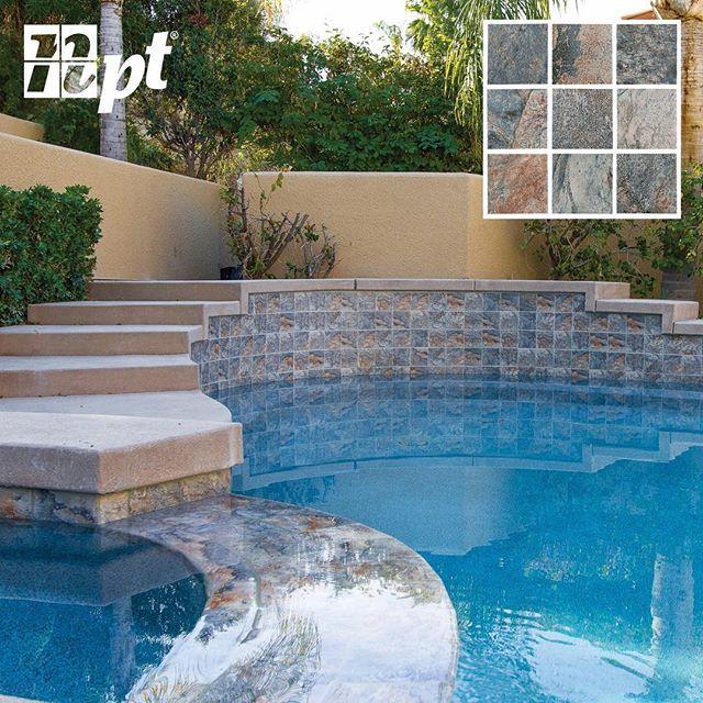 gemstone emerald pool tile