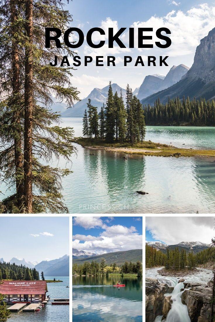 Jasper Nationalpark: 12 Orte die du besuchen solltest