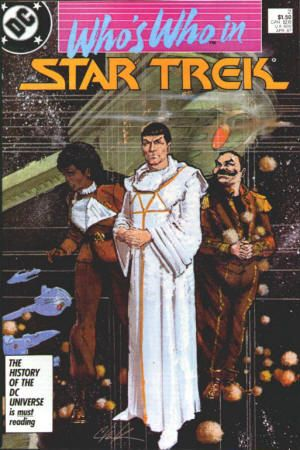 Dc Comics Who S Who In Star Trek 2 April 1987 Contains