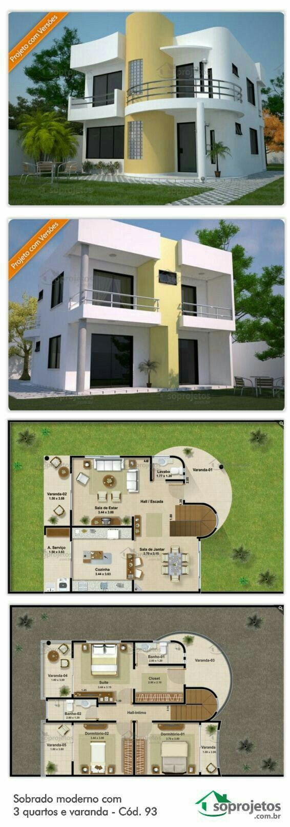 Modern House Plans Modern Houses Dream House