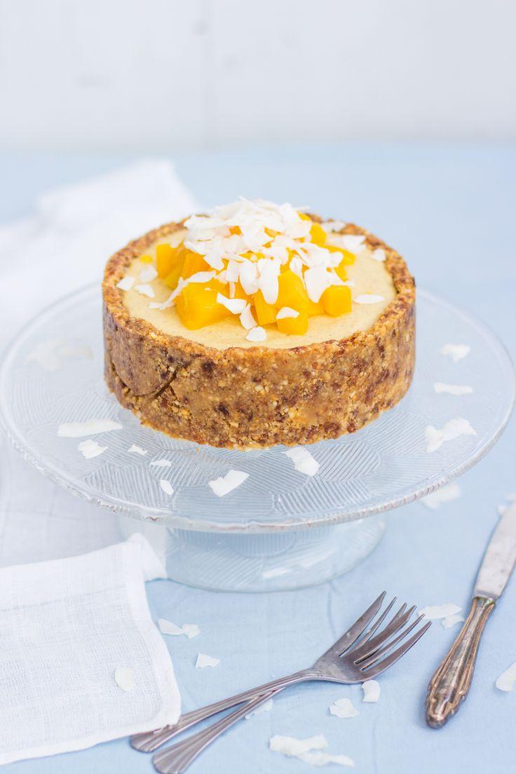 raw mango cake/ raakakakku juhliin